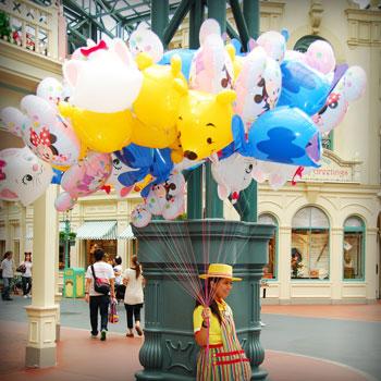 Tokyo Disneyland Balloon Vendor